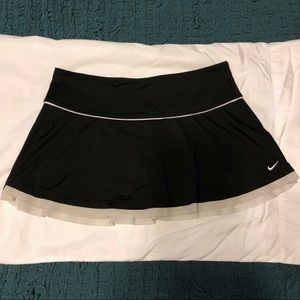 Nike Tennis Skirt - Black - Large
